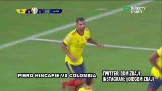 Piero Hincapie vs Colombia - Copa America 2021