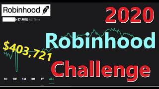 2020 Robinhood Challenge | $10,000 Goal | $403k Dividend Investing Portfolio, Dividends, Robinhood
