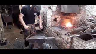 Medieval Arrows - Forging Heavy War Bodkin Arrowheads