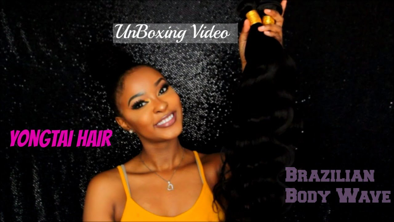 Aliexpress YONGTAI Hair Unboxing