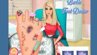 Barbie Foot Doctor Games Barbie Kids Doctor Games