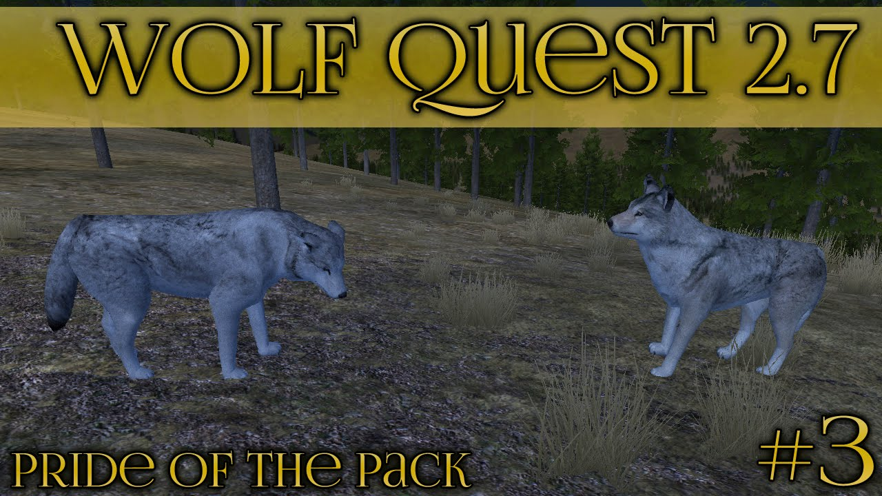 Download Stranger Wolves by the Moonlight 🐺 Wolf Quest 2.7 - Pride of the Pack 🐺 Episode #3