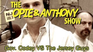 Opie & Anthony: Governor Codey Vs The Jersey Guys (01/27/05)