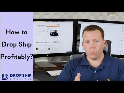 How To Drop Ship Profitably - The Ultimate Drop Shipping Tutorial For Beginners