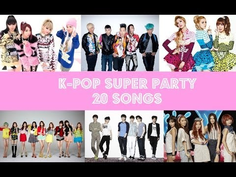 K-POP Super Party 20 Songs