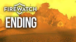 Firewatch ENDING Gameplay Walkthrough Part 8