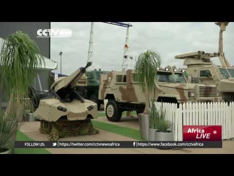 Hundreds of aviation exhibitors show of their wares in Pretoria