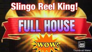 👑 SLINGO Reel King Full House 👑#SHORTS