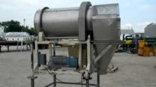 """Used: Horizontal Drum Tumbler - 24"""" Diameter - Stock# 41620001"""