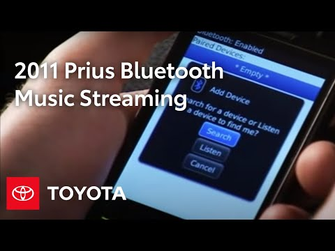 2011 Prius How-To: Bluetooth® Music Streaming | Toyota
