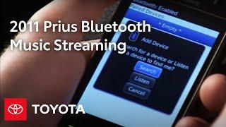 2011 Пріус Як: Bluetooth® Для Потокового Відтворення Музики   Тойота