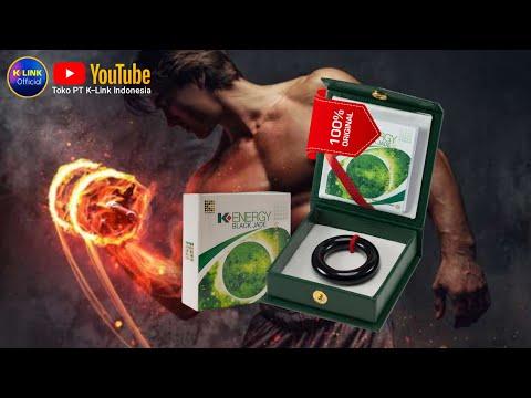 Cincin terapi K-Energy Black Jade