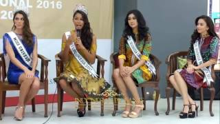 Iris Mittenaere Miss Universe 2016 Visit To Sarinah Indonesia