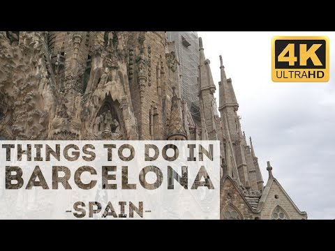 Things to do in Barcelona Attractions in 4k