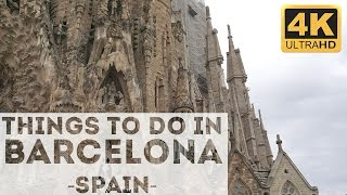 Gambar cover Things to do in Barcelona Attractions in 4k