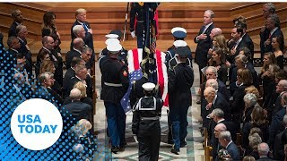 George H.W. Bush state funeral: Former president honored