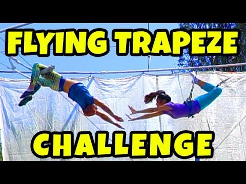We Try Trapeze School Is This Even Better than Gymnastics? Totally TV