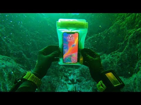Found a Working iPhone X Underwater in the River! (Returned Lost iPhone to Owner)