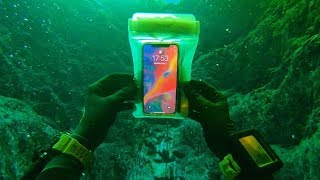 found iphone in the river