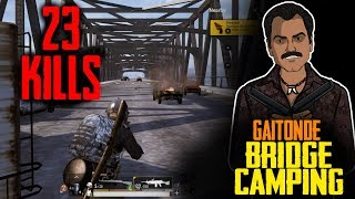 BEST BRIDGE CAMP  WITH CHICKEN DINNER ft GAITONDE I JACK SHUKLA  LIVE