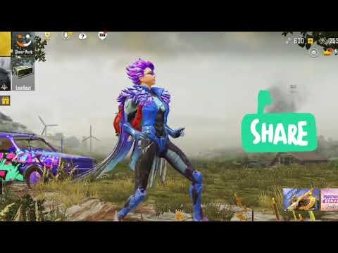 pubg dancing emote / Rudra gaming / pubg mobile gamplay