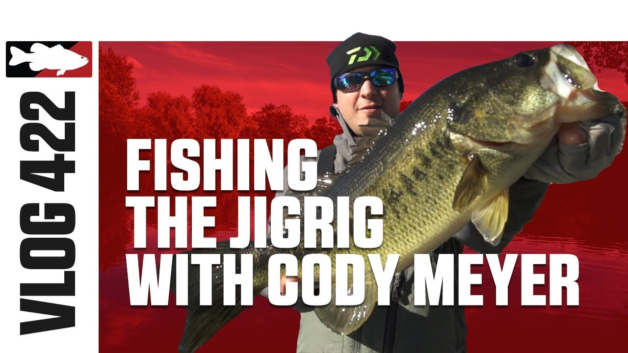 Cody meyer fishing the owner jigrig on lake of the pines for Lake o the pines fishing report