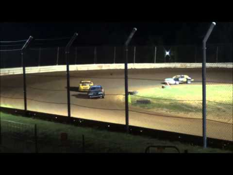 Doe Run Raceway Mini Stock Feature  8-1-15