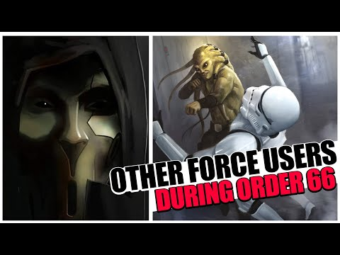 What happened to OTHER FORCE USERS during Order 66?  (Not Jedi)