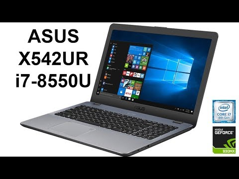 Asus X542URR Driver for Windows Download