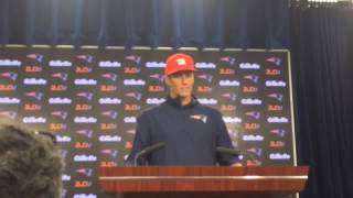 Tom Brady Discusses Scissors Accident, Excused Absences