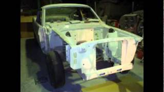 mustang shelby GT.350 R model replica reproduction part 2