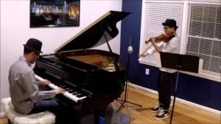 富士山下 - 陳奕迅 (鋼琴與小提琴合奏版) Under Mount Fuji - Eason Chan (Piano/Violin Cover) - joliuxsi + Martin