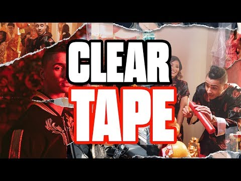 Clear Tape Effect Photoshop