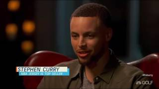 Stephen Curry on Feherty discussing his dominance