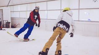 Тренировки по фристайлу на сноуборде в Москве | X-camp Russia