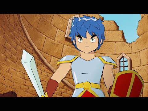 Monster Boy and the Cursed Kingdom - Hidden Animated Intro