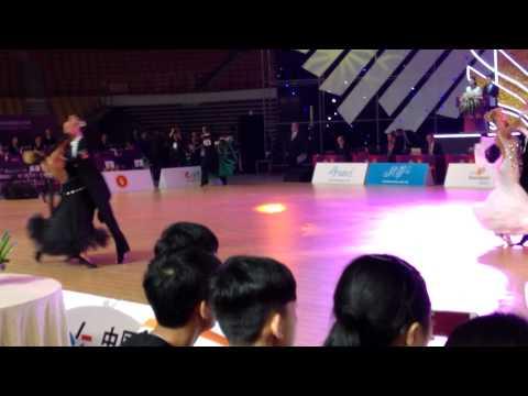 Wdsf semifinal standart Wuhan Grand Slem Ulanov-Isakovych 2014