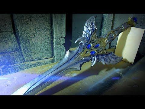 Как сделать Angel Slayer из игры Lineage 2 своими руками.