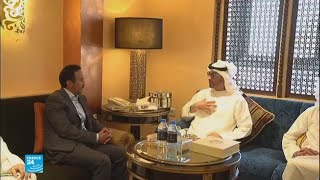 نجل الرئيس صالح يتعهد من أبو ظبي بقيادة حملة عسكرية ضد الحوثيين