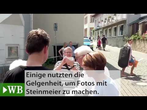 Bundespräsident Frank-Walter Steinmeier besucht Bad Salzuflen für Interview