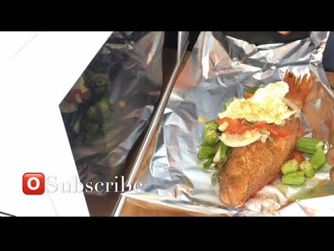 Foil Roasted Fish | Fish Wrapped Up In Foil | Oven Baked Fish | Healthy Food | Jamaican Roast Fish |