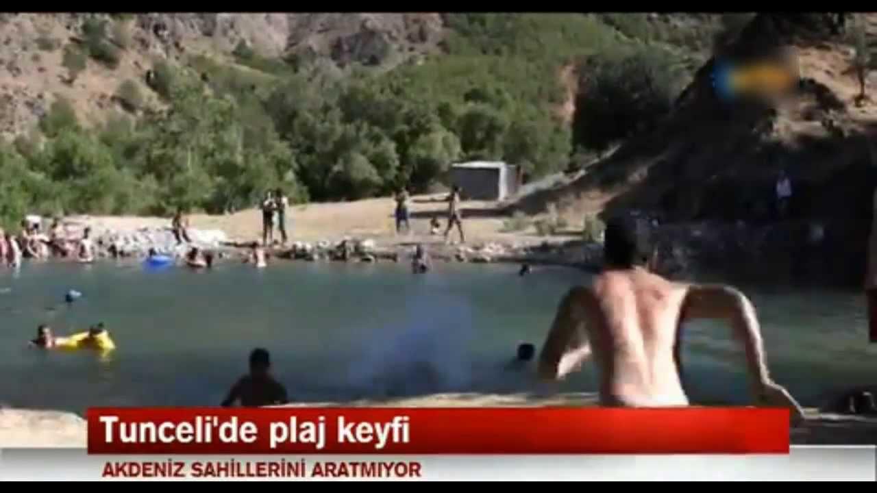 Tunceli'nin plajları sahilleri aratmıyor 28