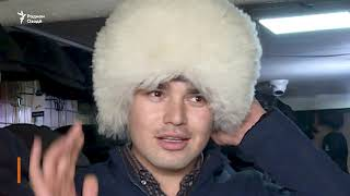 """Бо """"папаха""""-и Ҳабиб дар хиёбонҳои Душанбе"""