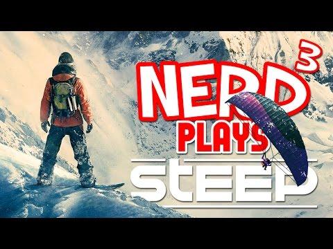 Nerd³ Plays... Steep - Man Falls Down Hill