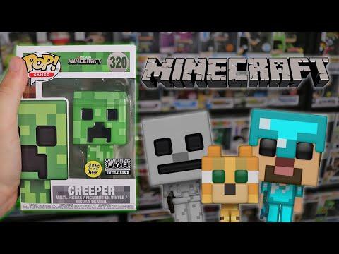 Minecraft Funko Pop Hunting