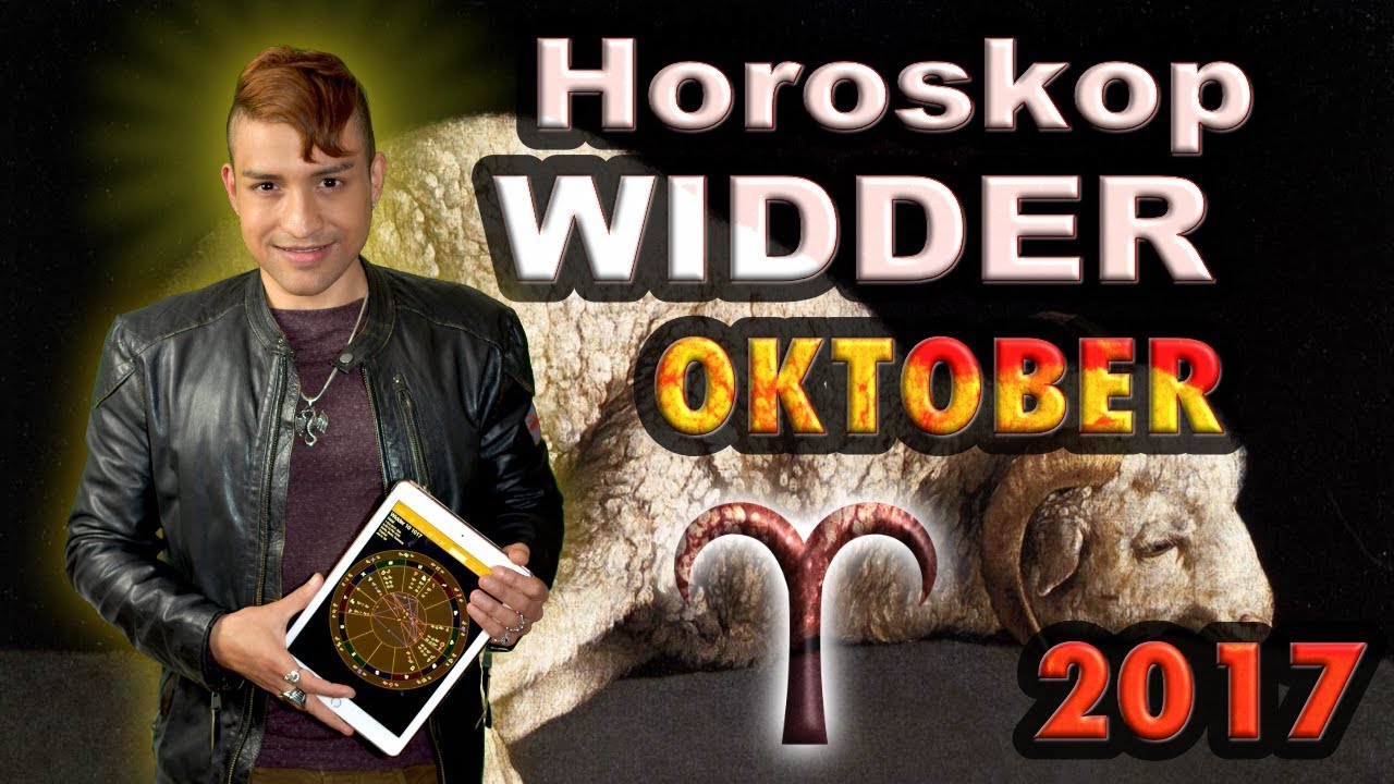 Widder Aszendent Horoskop Oktober 2017 Youtube