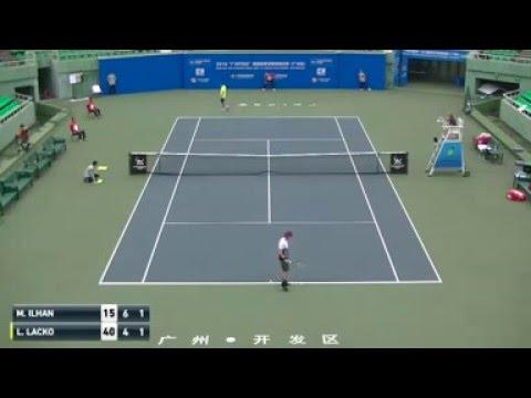 Marsel Ilhan - Lukas Lacko (Guangzhou 2016) Quarterfinal