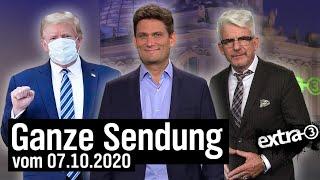 Extra 3 vom 07.10.2020 mit Christian Ehring