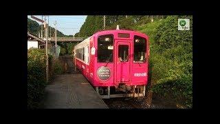 平成筑豊鉄道田川線 源じいの森駅2連発~セミ鳴く夏の渓谷~ Heisei Chikuho Railway