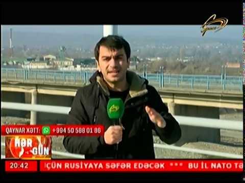 Azərbaycan-Rusiya sərhədində yeni körpü açıldı